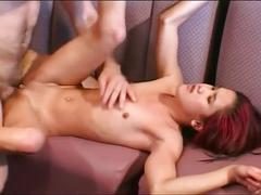 Nasty asian slut is in for some massive cock fucking