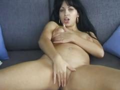 Major fun with lovely brunette sweet pussy show