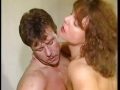 Horny brunette fucked hard in the gym by horny dude
