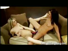Sexy lesbians in hardcore sex scene toys free movie
