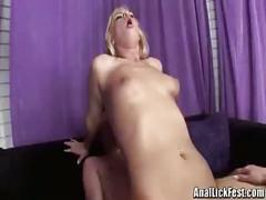 Lucky guy fucks two blonde babes hardcore sex
