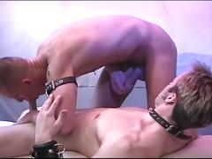 Cock loving sweet hunks enjoying hardcore hole wrecking session