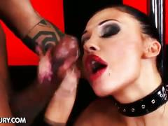 Aletta ocean loves big black cocks to suck and fuck