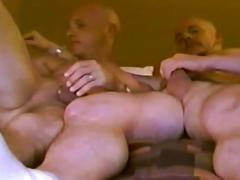 Horney dilfs romantic bedroom scene