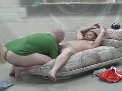 amateurs, blowjobs, dads & mature, fat men, dad, deepthroat, mature, older man, sloppy blowjob