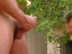 Sexy army dudes fucking hard in the training field