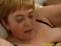 Old momma teaches this dick