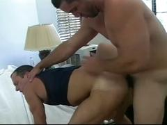 Naughty muscled gay stud giving in to sizzling hot anal desire