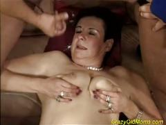 Busty milf wants some threesome