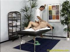 Milf wants massage with fuck