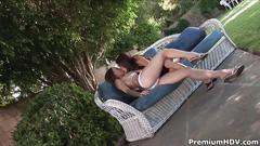 Daisy marie and dana outdoor lesbian sex