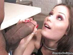 This girl punished her ass hole with massive dick