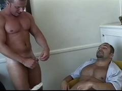 Super hot iron bodies muscled gay hunks pumping holes big time