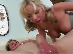 Horney, young chick gets drilled by her neighbor