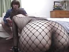 Milf slut fucked hardcore in sexy black stockings