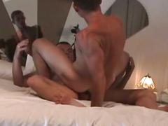 Amateur gay fucking couple stripping and filling hole session