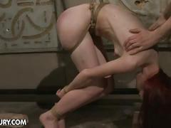 Niki fox tied and abused by horny guy
