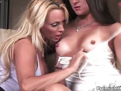 Holly halston and stephanie swift doing it lesbian style