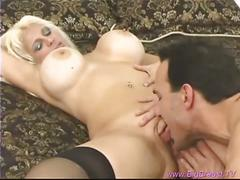Hot momma with huge tits for pizza guy