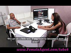 Femaleagent. casting agent and her amazing body