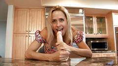 Payton leigh amateur housewife interview before rough sex