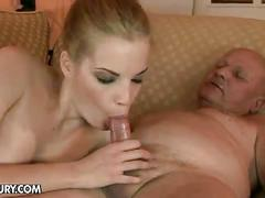 Laraan gets fucked by horny grandpa