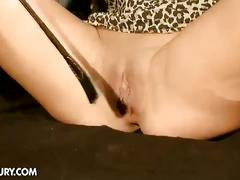 Honey demon tied and fucked hard