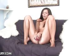 anal, solo, felony, ass toying, brown hair, dildo, jerking off, masturbation, vibrator