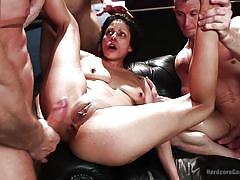 Bouble anal and vaginal for katrina