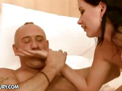 Sheala brill gets pussy fucked by old man
