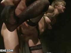 Slave girl gets ass-banged