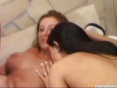 big ass, blonde, brunette, group sex, lesbian, toys, brown hair, dildo, eating pussy, group orgy, nice ass, platinum blonde, toying pussy