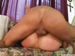 Nasty blonde enjoying double cock drilling