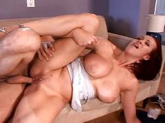 Milf gives big dick surprise