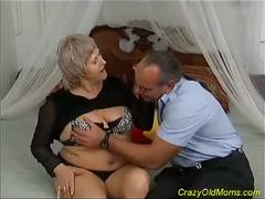 anal, big tits, blonde, granny, hardcore, mature, anal sex, big natural tits, cowgirl, mature amateur, spoon, white hair