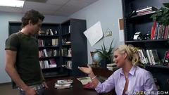 Phoenix marie is aclibrarian in heat