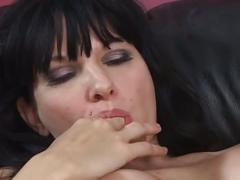 Busty bitch drilled by horny dude