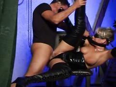 Horny bitch enjoys bdsm sex