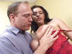 Hot sex action with this busty momma