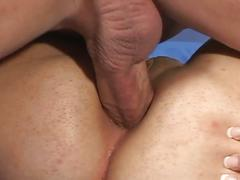 blowjob, brunette, hardcore, pussy, black hair, deepthroat, doggy style, face fucking, gagging, reverse cowgirl, shaved pussy, sloppy blowjob