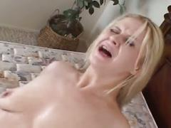 Sexy blonde milf horny for big cock