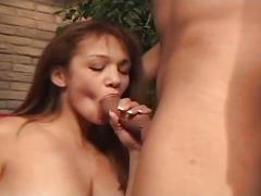 Busty babe loves hardcore fuck
