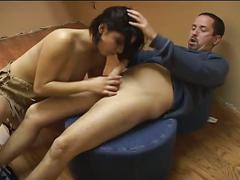 Perverted brunette babe anal whacking adventure