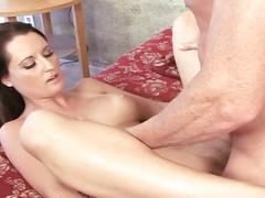 Sexy slut fucked by horny dick