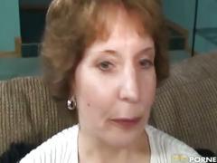 Grandma loves black dick