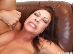 old & young, vanessa, big cock, brown hair, busty, mom, old woman young man, reverse cowgirl, spoon