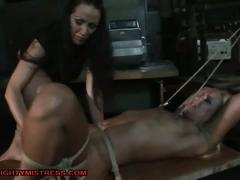 Bad pupil tied up and fucked by teacher