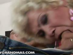 Sugar mama, effie fucks her young stud lover