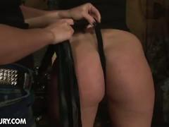 bdsm, blonde, brunette, lesbian, pornstar, toys, humpy milla, bondage, brown hair, dildo, mistress, painful, torture, toying pussy