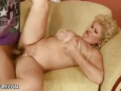 Granny effie fuck by young hunk